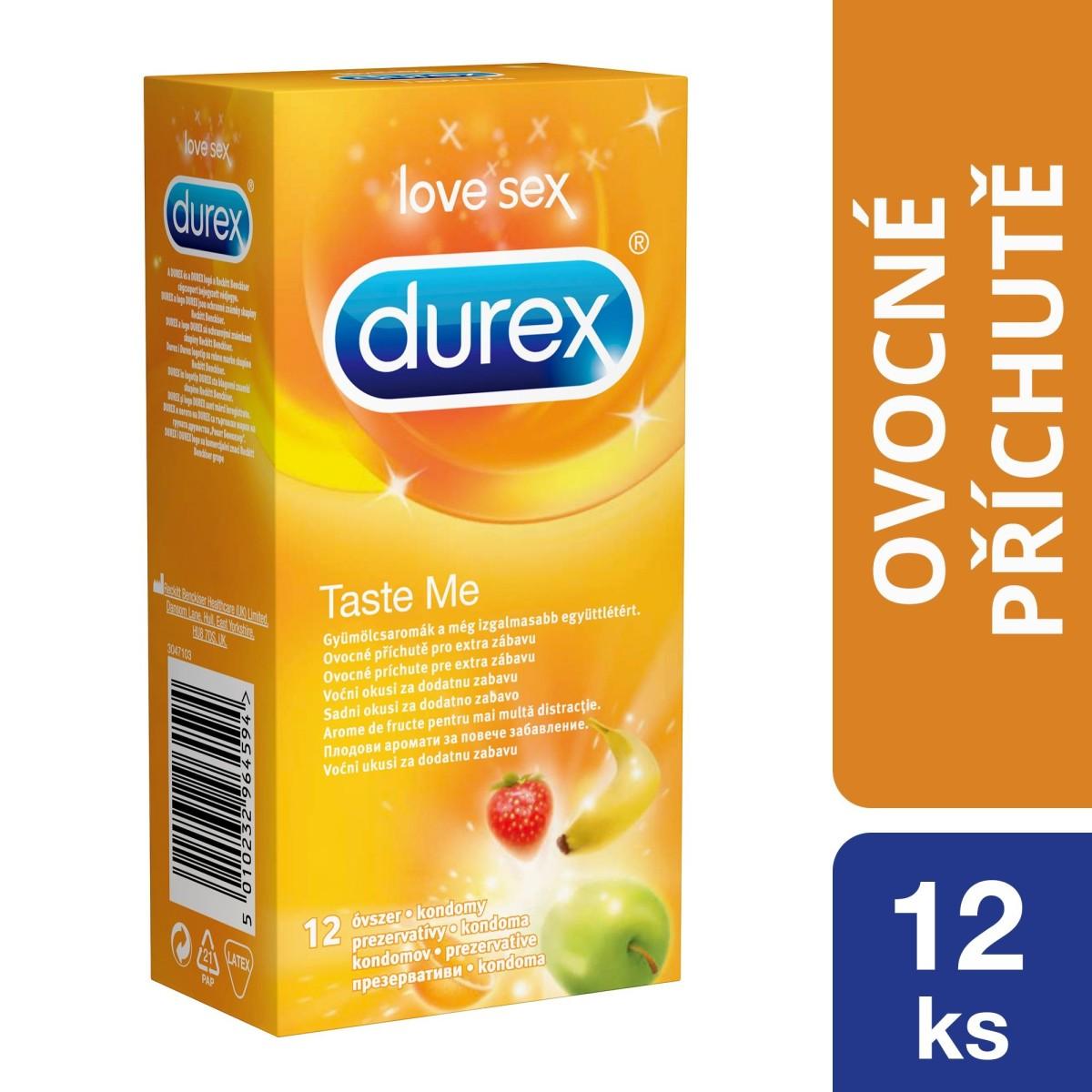 Durex Taste Me Condoms 12 Pack