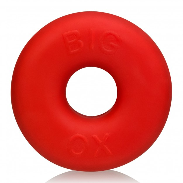 Oxballs Big Ox Cock Ring Red Ice