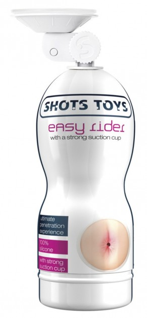 Easy Rider Strong Suction Cup Anal Masturbator