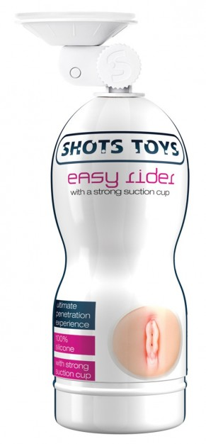 Easy Rider Strong Suction Cup Vagina Masturbator