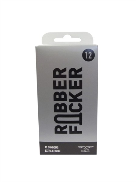 Mister B RubberFucker Condoms 12 pcs