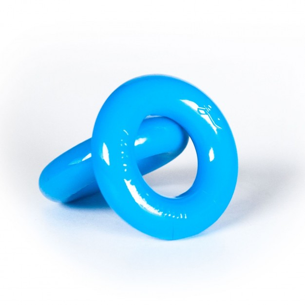 Zizi Top Cock Rings 2 pcs Fluo Blue