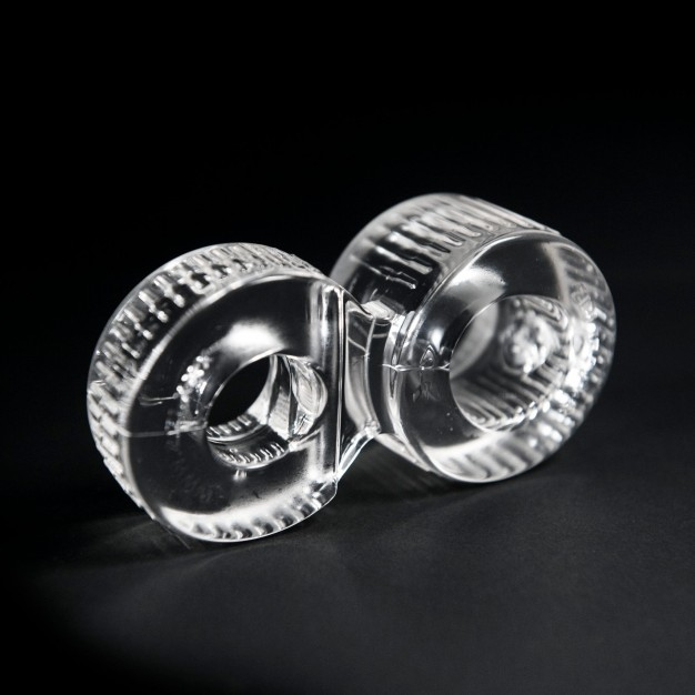 Zizi Trainer Cock Ring & Ball Stretcher Clear