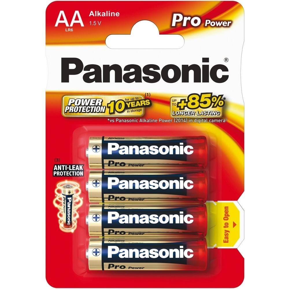 Panasonic AA LR6 1.5 V Pro Power Batteries