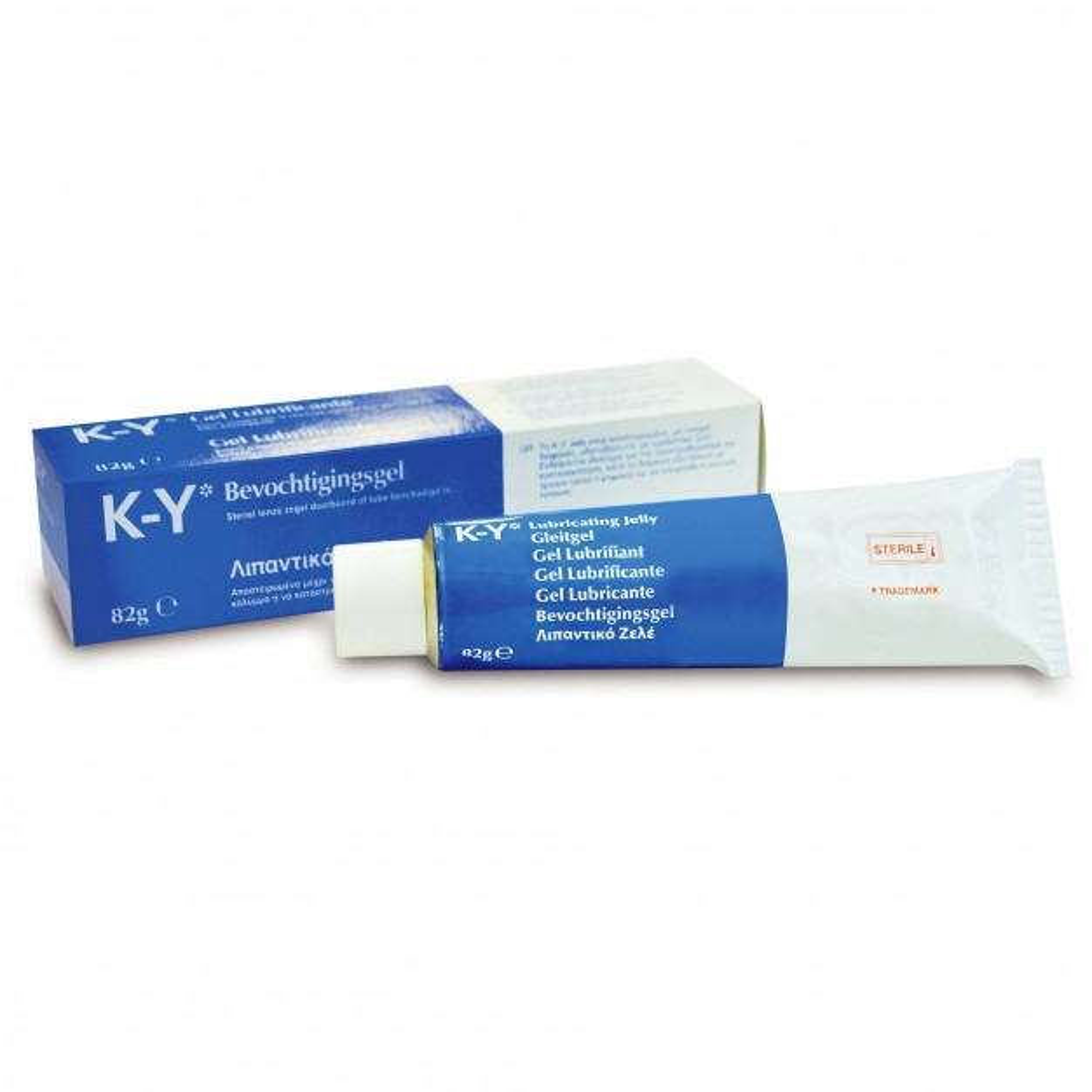 K-Y Sterile Lubricating Jelly 82 g