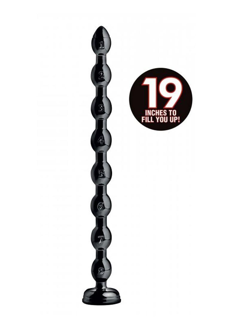 Hosed 19 Inch 1.5″ Beaded Hose