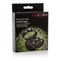 CalExotics Silicone Tri-Snap C & B Cage