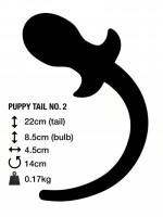 M&K Puppy Tail No. 2 Butt Plug