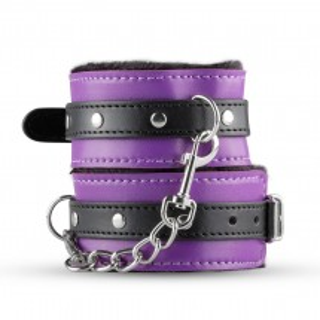 XOXO Hunter Handcuffs Purple