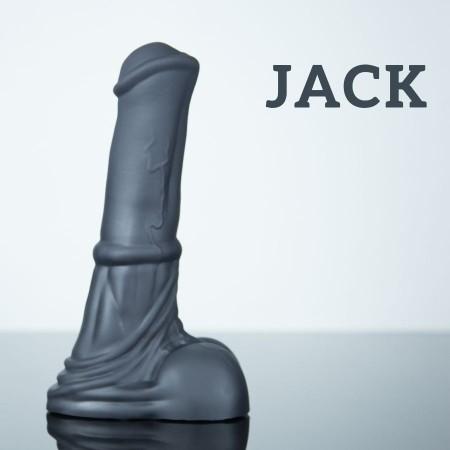 Weredog Jack Horse Dildo Jet Small