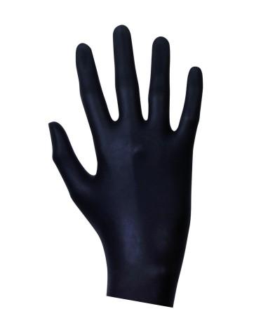Latex Examination Gloves Black 20 pcs
