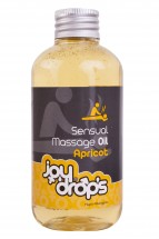 JoyDrops Sensual Massage Oil Apricot 250 ml