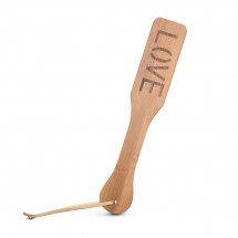 EasyToys Bamboo Paddle Love